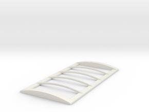 16 tarp frame in White Natural Versatile Plastic