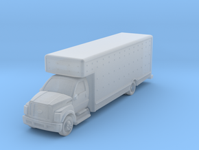 Uhaul 26 moving truck in Smoothest Fine Detail Plastic: 6mm