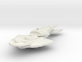 Keldon class battlecruiser in White Natural Versatile Plastic