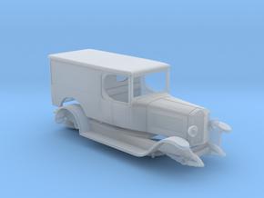 1:87 Unic L2 van 1922 in Smooth Fine Detail Plastic