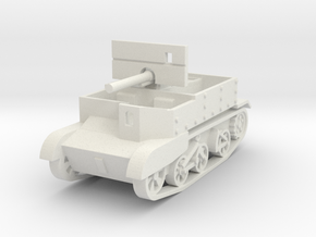 Universal Carrier 2pdr Canadian 1:72 in White Natural Versatile Plastic