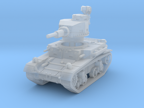 M2A4 tank scale 1/144 in Smooth Fine Detail Plastic
