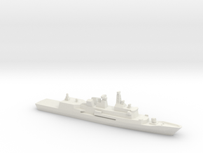 Anzac-class frigate (New Zealand Navy), 1/2400 in White Natural Versatile Plastic