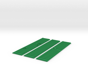 Kanalwand 100 x 20 mm Abflussrohre in Green Processed Versatile Plastic