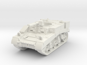 M3 Stuart Recce mid 1/87 in White Natural Versatile Plastic