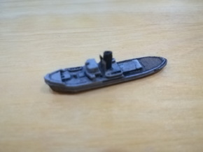 1/1200th scale Shkval soviet tug boat in Smooth Fine Detail Plastic