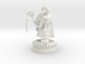 Plague doctor 28mm Base in White Natural Versatile Plastic