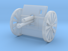 18 pdr Field Gun Mk II WW1   1:285 in Smooth Fine Detail Plastic