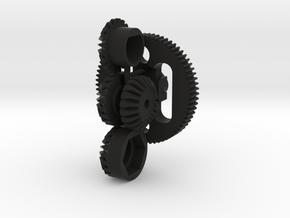 Kyosho EF-20 Gear Set- Plazma, Fantom in Black Natural Versatile Plastic