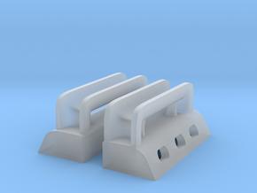 1/48 USN Massachusetts Roller Chocks Set in Smooth Fine Detail Plastic