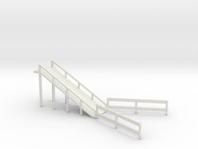 LIVESTOCK RAMP in White Natural Versatile Plastic