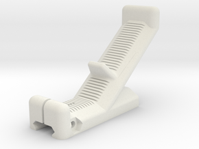 Kriss Vector Grip V2 in White Natural Versatile Plastic