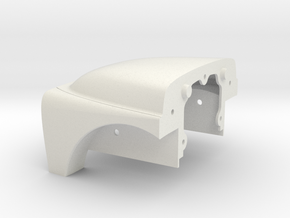 EngineCover in White Natural Versatile Plastic