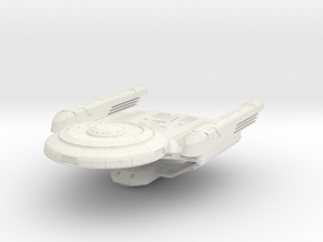 "Obereth Class A Refit Scout  2.2"" long in White Natural Versatile Plastic"