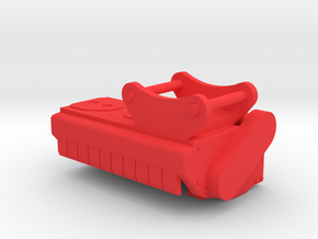 Mulcher Volvo At Collection in Red Processed Versatile Plastic