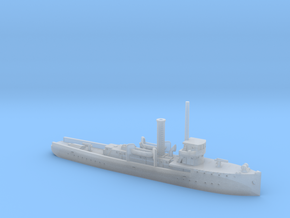 1/600th scale polish gunboat General Galler in Smooth Fine Detail Plastic