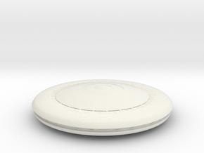5000 V Mothership in White Natural Versatile Plastic