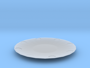 sun plate in Smooth Fine Detail Plastic