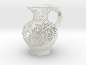 Jarrita in White Natural Versatile Plastic