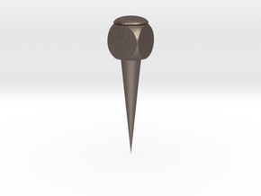 Thumbtack in Polished Bronzed-Silver Steel