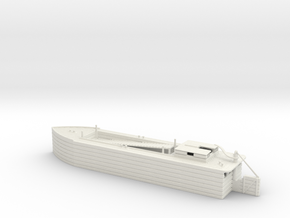 river barge in White Natural Versatile Plastic