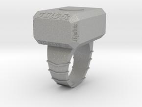 hammer ring in Aluminum: 3 / 44