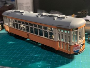 HO Johnstown Traction Co 350-369 in Smooth Fine Detail Plastic