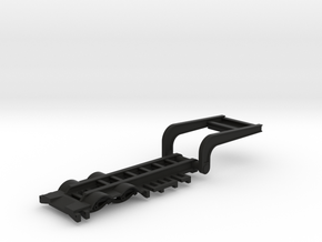 1/64 Scale Folding combine trailer in Black Natural Versatile Plastic