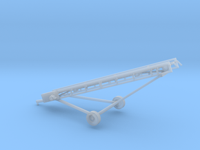 1/64th Hay conveyor elevator 16' w wheels in Smooth Fine Detail Plastic