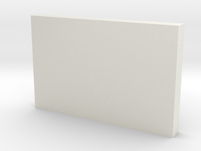 Document folder in White Natural Versatile Plastic