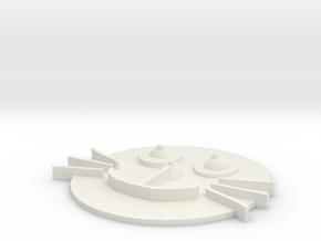 蠟筆 in White Natural Versatile Plastic