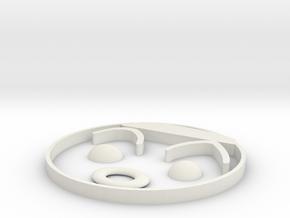 多啦 in White Natural Versatile Plastic