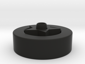 Multi-functional wheel frame  in Black Natural Versatile Plastic