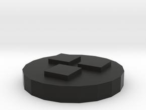 5.星型蓋 in Black Natural Versatile Plastic