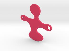 Qlonee_P_Plastic_Hole_25mm in Pink Processed Versatile Plastic