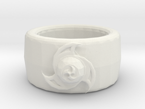 Wind ring in White Natural Versatile Plastic