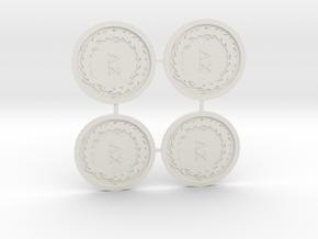 Thousand Sons Legion Icon Multi-Medium in White Natural Versatile Plastic