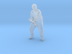 O Scale Guitar Player in Smooth Fine Detail Plastic