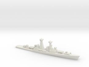 Kynda-class cruiser, 1/2400 in White Natural Versatile Plastic