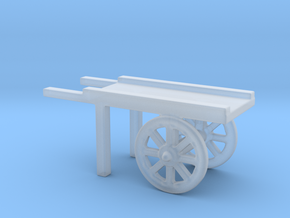 hand cart  in Smooth Fine Detail Plastic