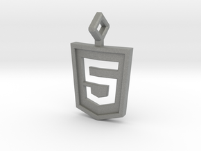 HTML 5 Keychain in Gray PA12