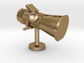 Scientist Collection - Parker Solar Probe Cufflink in Polished Gold Steel
