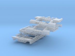1/50th Murray Scraper Trailer and Basket in Smooth Fine Detail Plastic