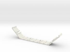 ARTILLERY BULWARK in White Natural Versatile Plastic