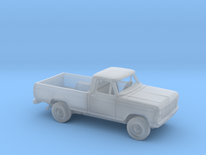 1/87 1978/79 Ford F-Series Reg. Cab Reg. Bed Kit in Smooth Fine Detail Plastic