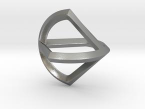 Sphericon Glatt in Natural Silver