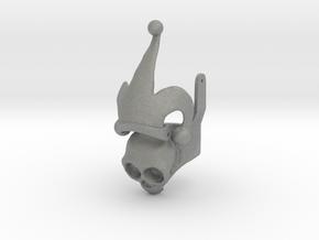 Harley Ring - Skull Half, Plastics in Gray Professional Plastic: 6.5 / 52.75