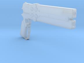 1/3rd Scale Cerberus Gun in Smooth Fine Detail Plastic