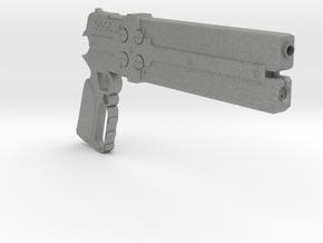 1/3rd Scale Cerberus Gun in Gray Professional Plastic