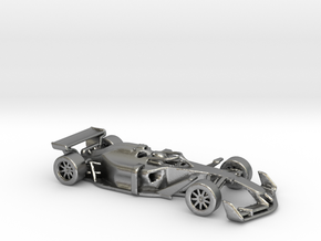 F1 2025 'Simplified' car 1/64 - with driver in Natural Silver